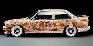 1989 BMW M3 Group A Raceversion Art Car by Michael Jagamara Nelson 2
