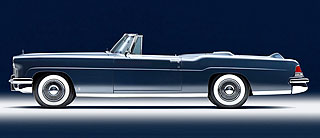 1956 Continental Mark II Convertible 4
