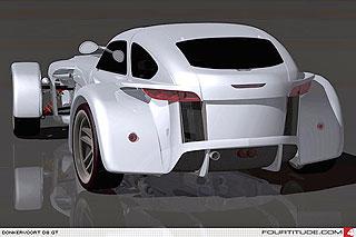 Lotus Seven Replica D8 GT 3