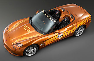2007 Chevrolet Corvette Indy Pace Car 2