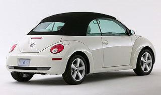 2007 Volkswagen New Beetle Convertible Triple White Special Edition 3