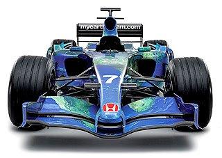 2007 Honda Racing F1 RA107