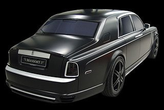 2007 Mansory Conquistador based on Rolls-Royce Phantom 5