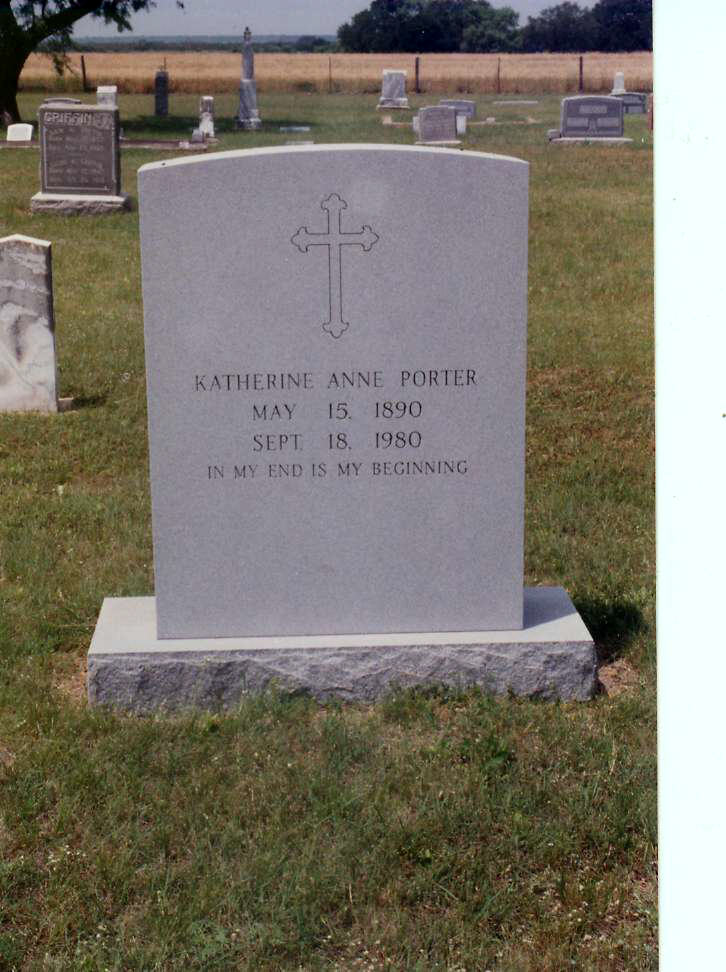 an examination of the grave by katherine anne porter Dive deep into katherine anne porter's the grave with extended analysis,  commentary, and discussion.