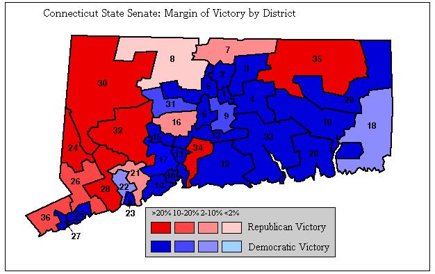Connecticut Local Politics Connecticut Political Maps