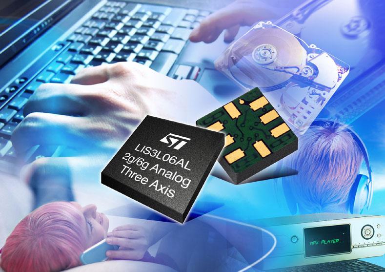 Microelectronics 3 Axis Digital Accelerometer