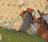 Khusrau Hunting, dated 1498 Page from a manuscript of the Khusrau and Shirin by Hatifi Turkey (probably Istanbul), Ottoman period