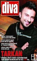 Tarkan on the cover of Diva®