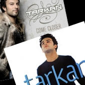 Tarkan's international albums