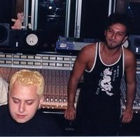 Colakoglu and Tarkan in the studio