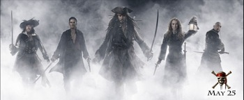 Pirates of the Caribbean : At World's End poster
