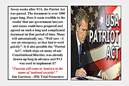 persuasive essay patriot act