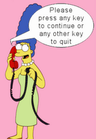 Please press any key to continue or any other key to quit