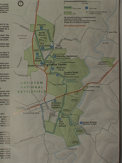 The 2004 Printing Shows The Welcome Addition Of The Cornfield Trail
