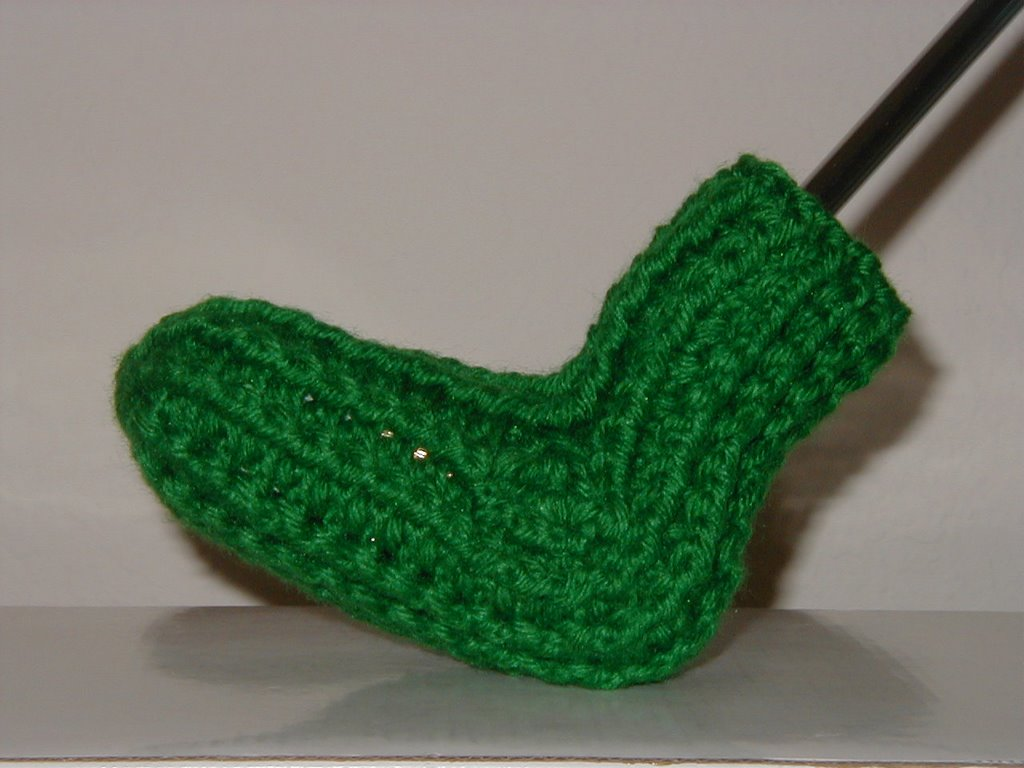 Crochet Patterns Golf Club Covers Free : Tammys Handmade Crochet: Golf Putter Cover