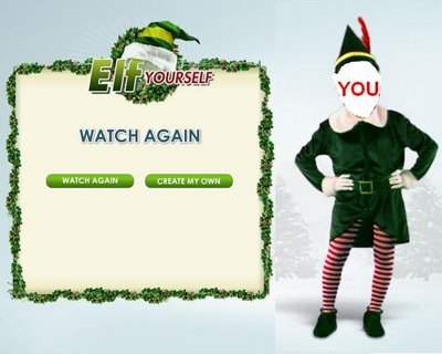 Turn yourself into a funny dancing elf