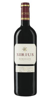sirius serious bordeaux red wine