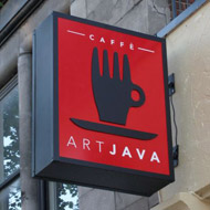 art java electronic sign