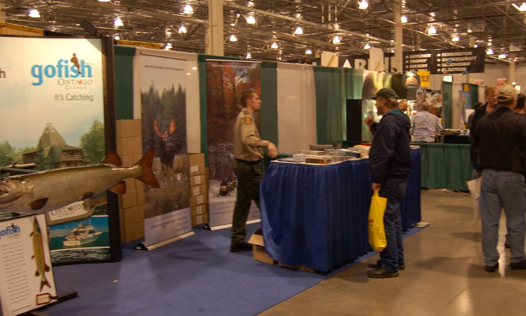 James bay frontier for Novi fishing show