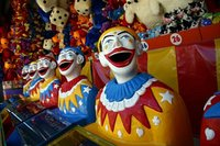 Wide-Mouthed Carnival Clowns