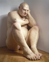 Big Man by Ron Mueck