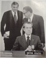 Rumsfeld, Kissinger, Nixon