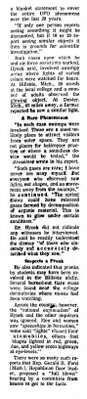 UFOs Very Likely Swamp Gas - Hynek - Daily News 3-26-1966 (B)