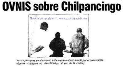 Ovnis Sobre Chilpaningo