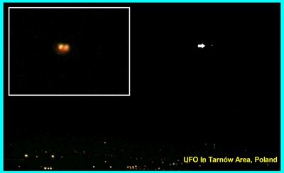 UFO Over Tarnów Area Poland 11-26-06 (A)