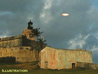 UFO Over El Morro