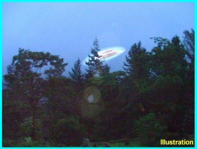 Kelly UFO Landing