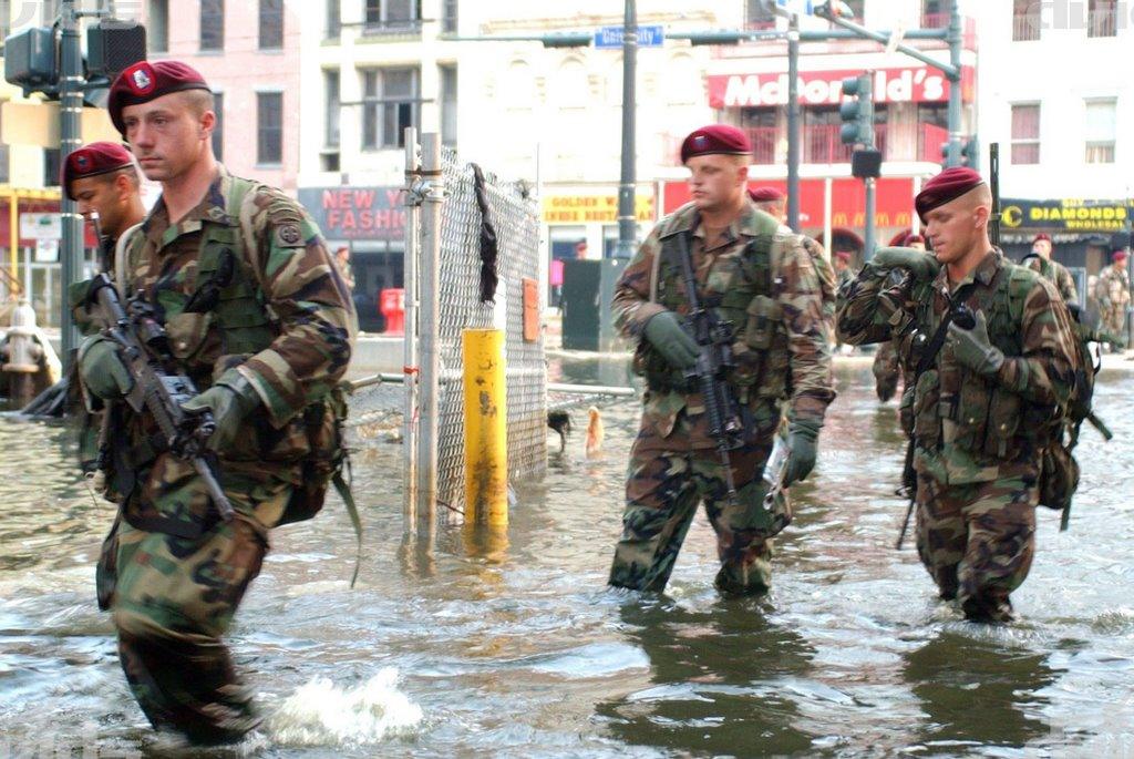 Marines to the rescue?