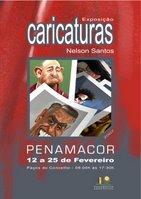 Cartaz da Exposição de caricaturas em Penamacor
