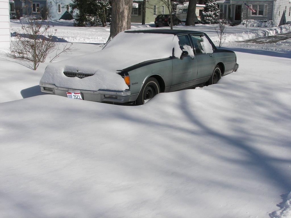 Snow Storm in Toledo