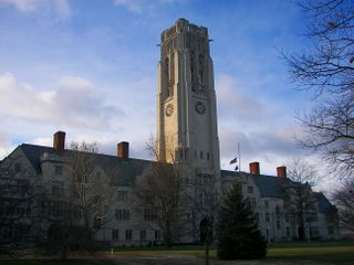 University Hall, the University of Toledo