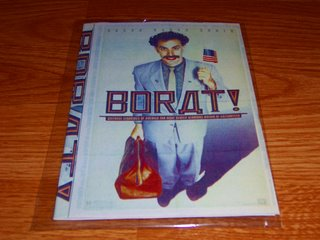 Pirated DVD of Borat