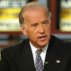 Senator Joe Biden, a man whose mouth must now accommodate his foot