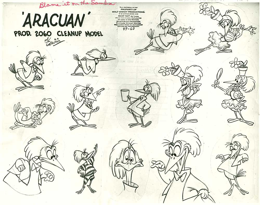 Cartoon Character Design Sheet : John k stuff disney principles solid drawing