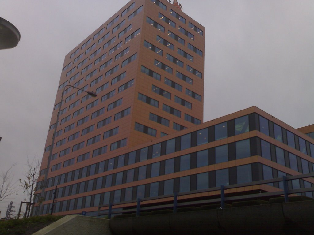 orange office building