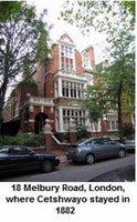 cetshwayo london house