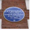 cetshwayo blue plaque
