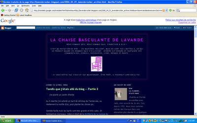 My blog, in French.