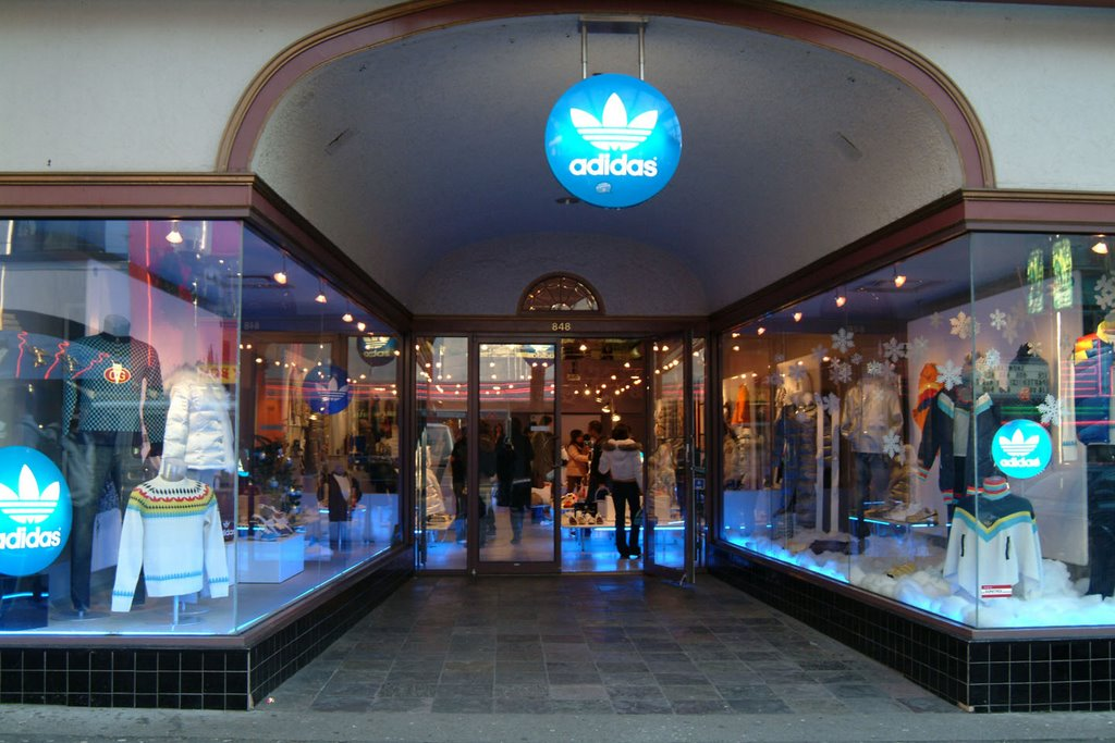 adidas store in canada
