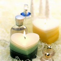 lavender, jasmine, rose candle with oil