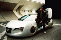 will smith and Audi RSQ car