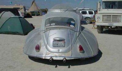 UFO type volkswagen