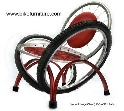 turn a old bicycle into new model furniture