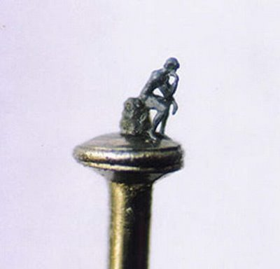 amazing tiny statue