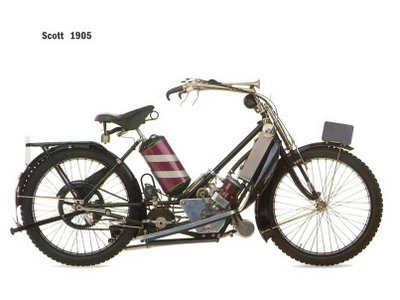 old days motorbike