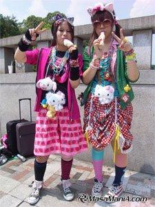 weird fashion in japan
